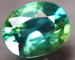 Apatite 2.10Ct Natural Paraiba Green Color Apatite D0412/B44