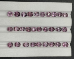 19.55 CT Natural pink spinal Gemstone parcel