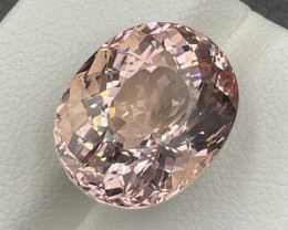 11.73 CT Morganite Gemstones Top Luster with fine Cutting