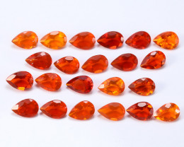 6.26tcw Natural Mexican Fire Opal Parcel (22pcs)
