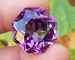 37.44CT Beautiful Cut Amethyst Gemstone~Africa
