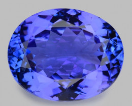 4.63 Cts Tanzanite Faceted Gemstone Gorgeous Cut ~ TN2