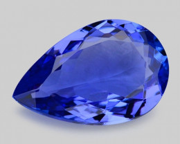 2.67 Cts Tanzanite Faceted Gemstone Gorgeous Cut ~ TN3