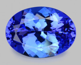 3.20 Cts Tanzanite Faceted Gemstone Gorgeous Cut ~ TN11
