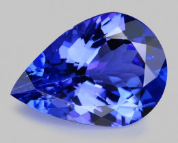 2.37 Cts Tanzanite Faceted Gemstone Gorgeous Cut ~ TN13