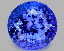 3.36 Cts Tanzanite Faceted Gemstone Gorgeous Cut ~ TN17