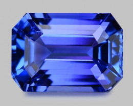 3.38 Cts Tanzanite Faceted Gemstone Gorgeous Cut ~ TN20