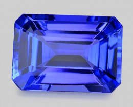 3.73 Cts Tanzanite Faceted Gemstone Gorgeous Cut ~ TN21