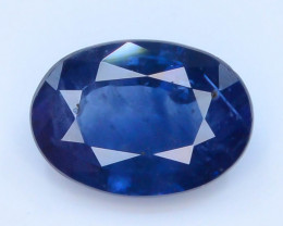 Royal Blue 0.80 Ct Natural Ceylon Sapphire ~Sirilanka !GA1