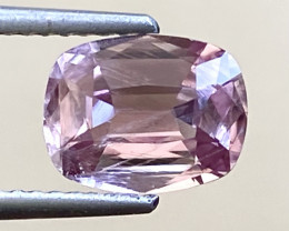 1.52Ct Natural Diaspore Rare Purplish Pink Color from Afghanistan. DP 03