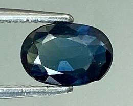 0.50Ct Natural Blue Sapphire Good Quality  Gemstone. BS 28