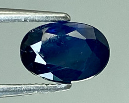 0.65Ct Natural Blue Sapphire Good Quality  Gemstone. BS 29