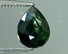 0.72Ct Natural Blue Sapphire Good Quality  Gemstone. BS 30