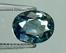 0.56Ct Natural Blue Sapphire Good Quality  Gemstone. BS 31