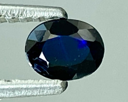 0.37Ct Natural Blue Sapphire Good Quality  Gemstone. BS 37