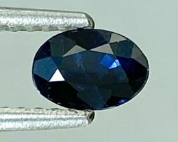 0.52Ct Natural Blue Sapphire Good Quality  Gemstone. BS 40