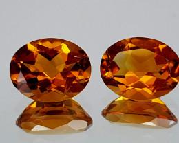 2.95Crt Madeira Citrine Natural Gemstones JI112