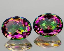 4.75Crt Mystic Quartz Natural Gemstones JI112