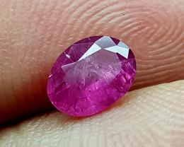 0.75Crt Ruby Heat Only  Natural Gemstones JI112