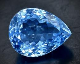 10.08 Crt Natural Topaz Faceted Gemstone.( AB 64)