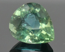 3.65ct Pear Green Apatite-$1 No Reserve Auction