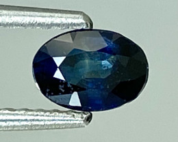 0.57Ct Natural Blue Sapphire Good Quality  Gemstone. BS 45
