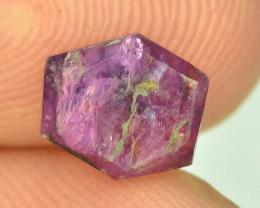 Rarest 1.60 ct Trapiche Pink Kashmir Sapphire ~K