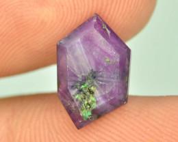 Rarest 3.45 ct Trapiche Pink Kashmir Sapphire ~K