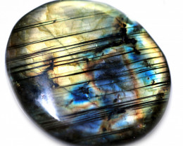 81.00 CTS  LABRADORITE DICS -IDEAL WIRE WRAPPING  [STS2033]