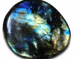 81.00 CTS  LABRADORITE DICS -IDEAL WIRE WRAPPING  [STS2034]
