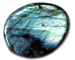 151 CTS  LABRADORITE DICS -IDEAL WIRE WRAPPING  [STS2035]