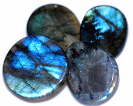 310.00 CTS  LABRADORITE DICS  PARCEL -IDEAL WIRE WRAPPING  [STS2037]