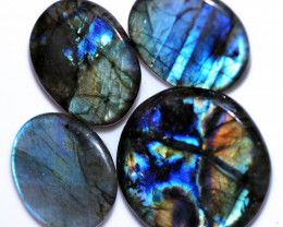 348.00 CTS  LABRADORITE DICS  PARCEL -IDEAL WIRE WRAPPING  [STS2038]