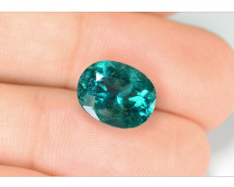 *NoReserve*Green Apatite 3.43 Cts Unheated Natural Gemstone