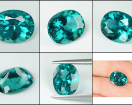 Green Apatite 3.43 Cts Un Heated Natural Loose Gemstone