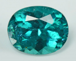 *NoReserve* Neon Blue-Green Apatite 3.43 Cts Un Heated Natural Loose Gemsto