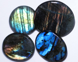 360.00 CTS  LABRADORITE DICS  PARCEL -IDEAL WIRE WRAPPING  [STS2043]