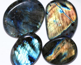376.00 CTS  LABRADORITE DICS  PARCEL -IDEAL WIRE WRAPPING  [STS2044]