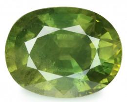 *NoReserve*Ceylon Sapphire 2.11 Cts Rare Green Natural Gemstone