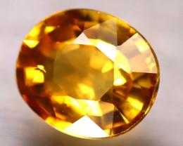 Tourmaline 1.67Ct Natural Golden Yellow Tourmaline E0517/B48