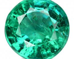 Colombian Emerald 1.22 Cts Natural Vivid Green Loose Gemstone