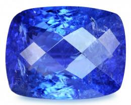 Tanzanite 9.29 Cts Amazing rare Violet Blue Color Natural Gemstone
