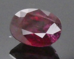 2.13ct Oval Red Ruby