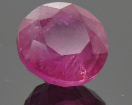 1.19ct Round Red Ruby