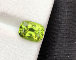 2.90 ct Green Peridot Ring Size Attractive color ST