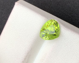 2.30 ct Green Peridot Ring Size Attractive color ST