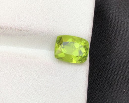 2.50 ct Green Peridot Ring Size Attractive color~ST