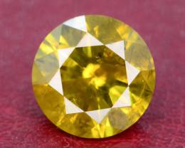 Yellow Diamond 3.10 ct Top Grade Brilliance SKU-25