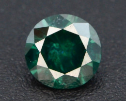 AAA Grade Ravishing Color 0.25 ct Natural Vivid Green Diamond