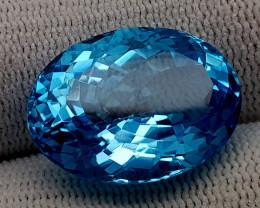 25.95CT BLUE TOPAZ  BEST QUALITY GEMSTONE IIGC11